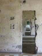 inside the school turned prison during the Khmer Rouge genocide