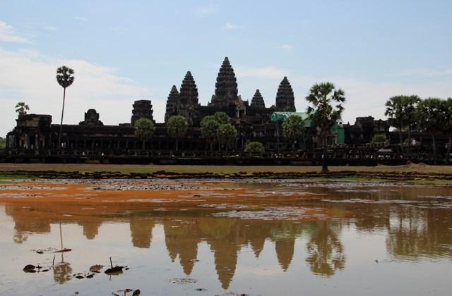 the mighty Angkor Wat