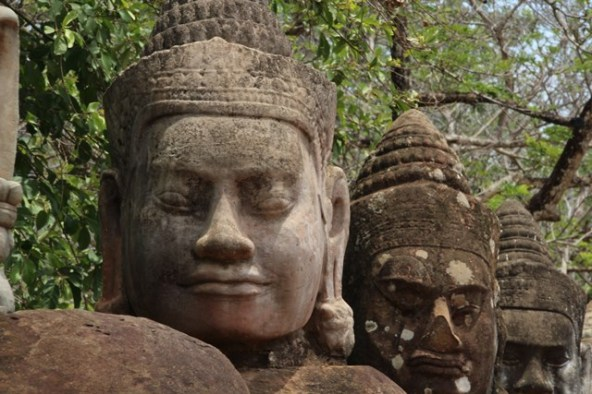 Around the temples of Angkor