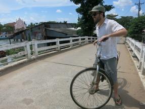Bike ride in the Mekong Delta