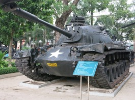 American tank from the war