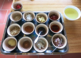 Baby Mustard cooking class