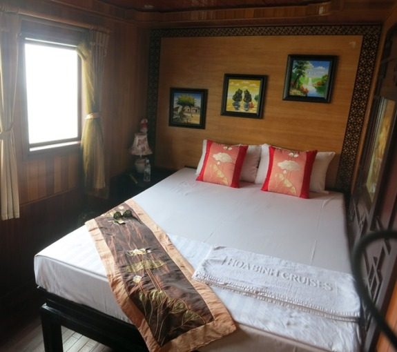 Our awesome cabin onboard