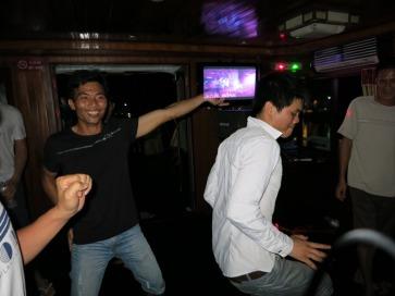 Crazy dancing crew
