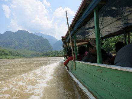 On the boat to Muang Ngoi Neua