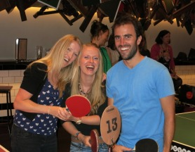The ping pong bar