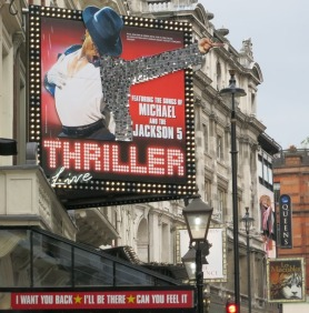 Off to see Michael Jackson Thriller in the West End