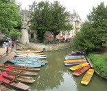 Oxford 'punting' boats