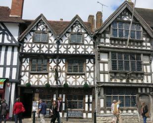 Old buildings...