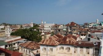 View over Stone Town, Zanzibar