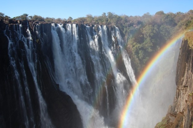 The amazing Victoria Falls - from the Zambian side