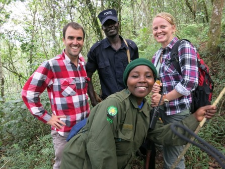 Gorilla trek - our guides