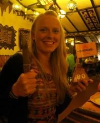 Danielle's birthday at Carnivores