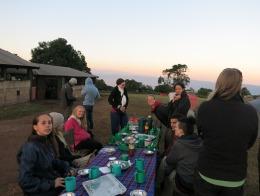 Ngorongoro Crater - camping on the rim