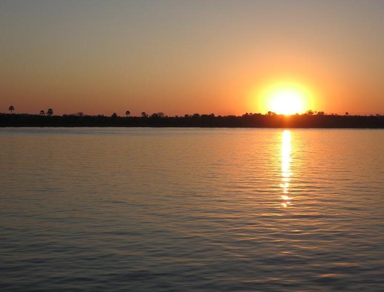 Sunset River Cruise down the Zambezi River