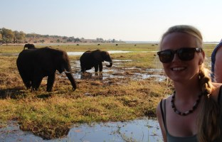 Sunset cruise on the Chobe River