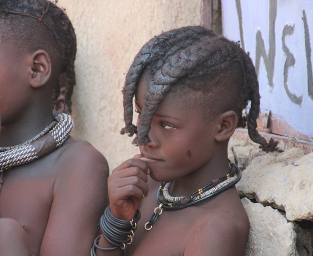 Children from the Himba Tribe