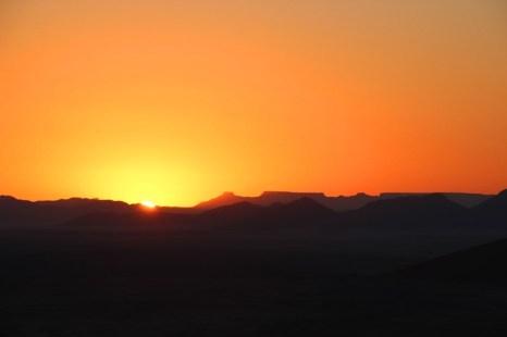 Sunrise at Dune 45