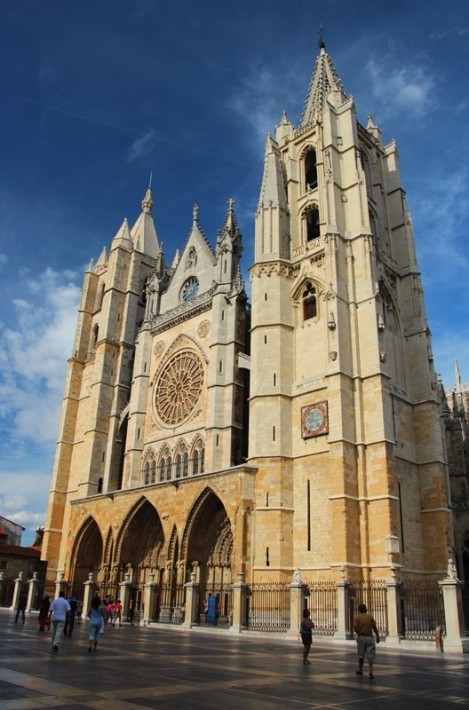 Leon Cathedral - its a big one..