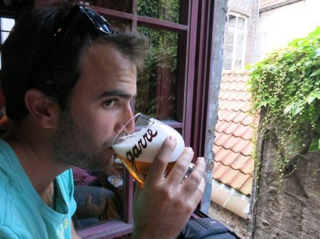 Belgian Bier... when in Rome...