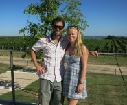 Winery tour in the Bordeaux region