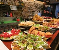 Food heaven - 'Pintox' in San Sebastian
