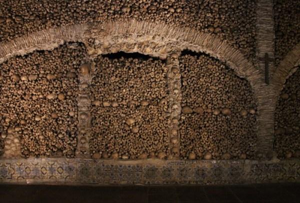 The chapel of bones!