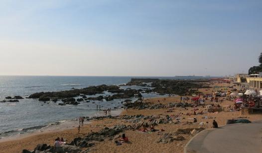 The beaches near Porto