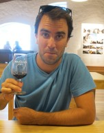 Trying to be couth, port tasting - can't pull it off..