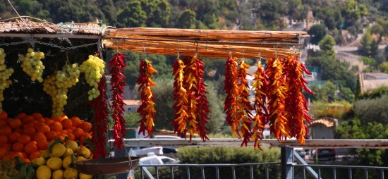 Roadside stall - Amalfi Coast