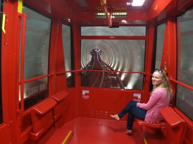 The mini-metro in Perugia
