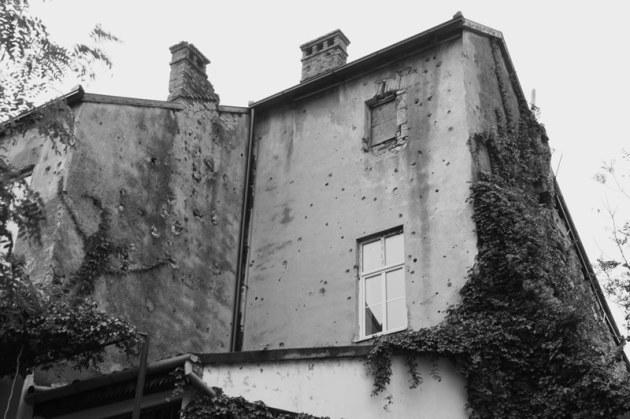 War scars - Mostar