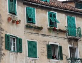 Beautiful buildings in Split's old town