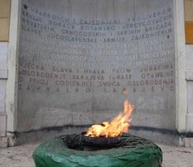 The eternal flame, Sarajevo