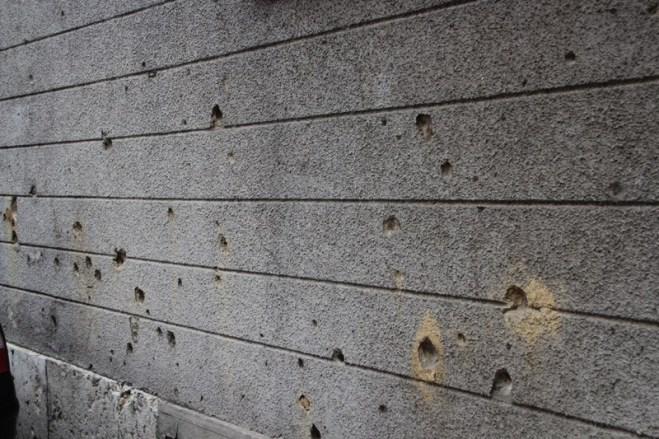 War scars are still everywhere in Sarajevo