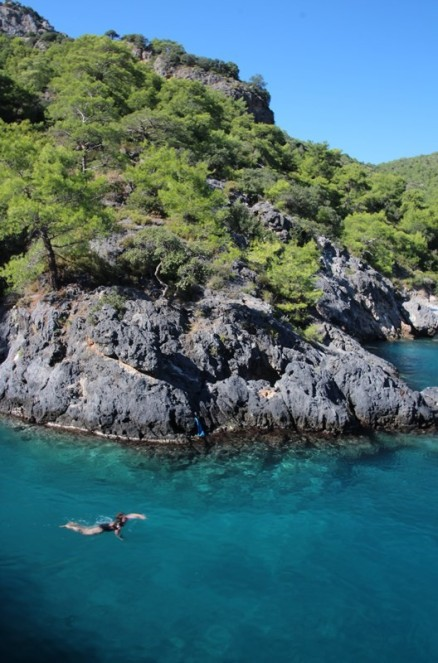 No wonder they call it the Turquoise Coast!