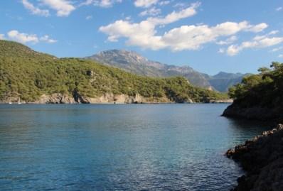 Beautiful Turkish coastline