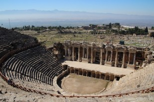 The amphitheatre at Hierapolis