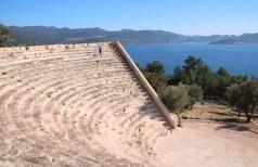 The amphitheatre just outside Kas