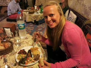 Dinner at Topdeck Cave Restaurant, Goreme.