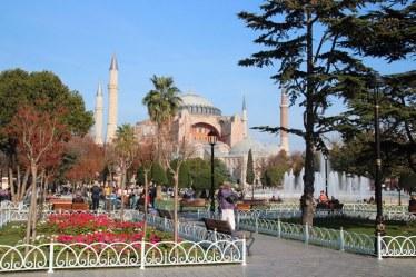 The Hagia Sophia, Istanbul