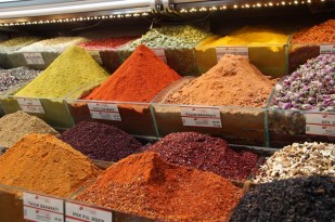 The spice markets, Istanbul