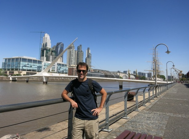 The waterfront (old docklands)