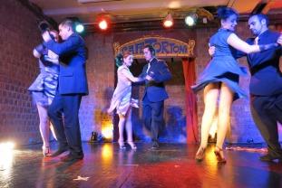 Tango show at Cafe Tortoni, Buenos Aires