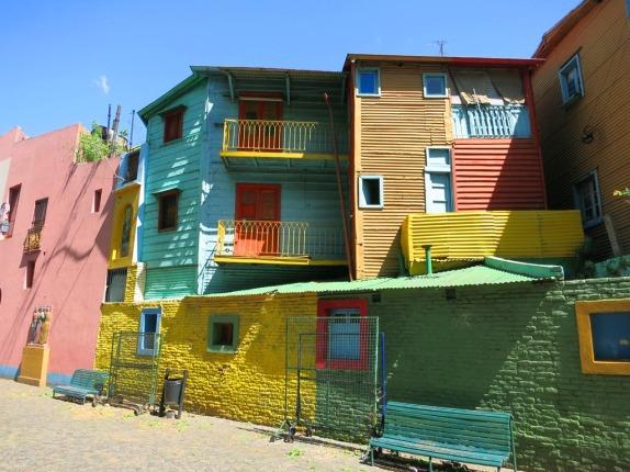 The La Boca neighbourhood