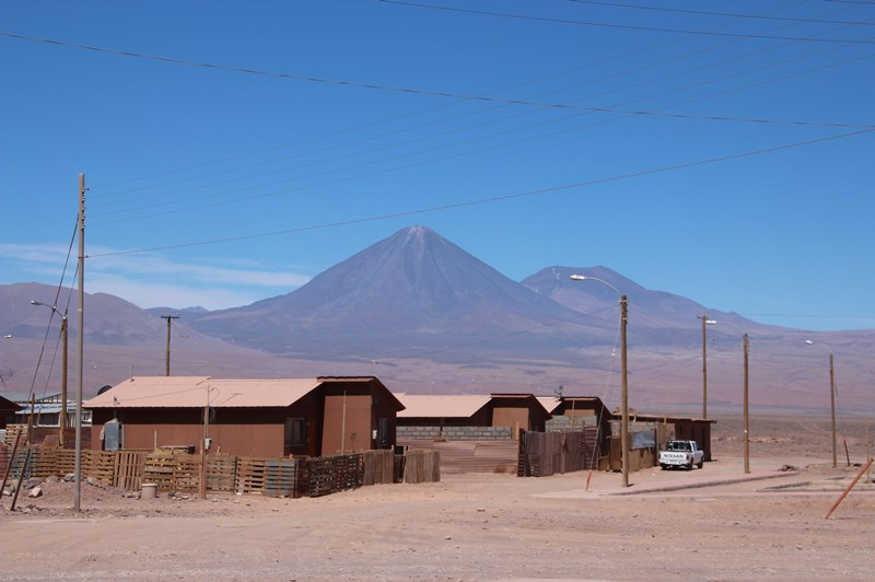 Just near our hostel on the outskirts of San Pedro de Atacama