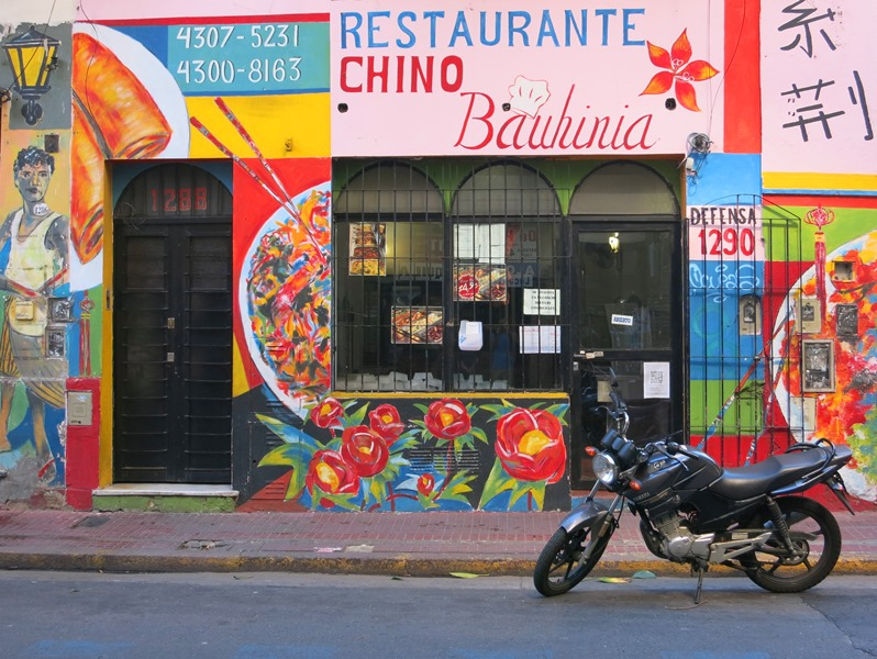 The colours of Buenos Aires