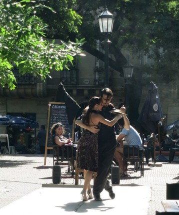 Tango on the streets of BA!