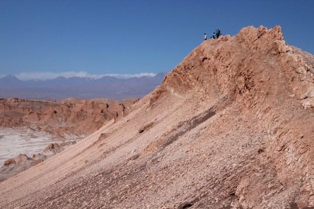 The 'Moon Valley' in the Atacama Desert