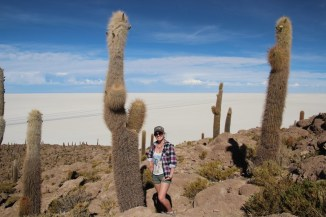 Cactuses in the middle of nowhere